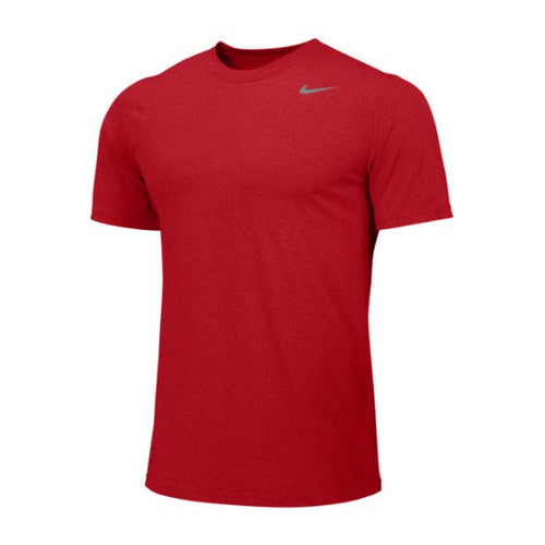 Men's Team Legend Short Sleeve Top - University Red/Cool Grey