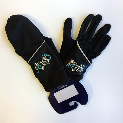 Gazelle Girl Convertable Glove - Black
