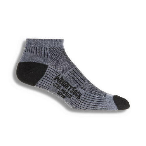 Coolmesh ll Low Quarter Socks - Black/Grey