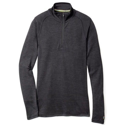 Men's Merino 250 Base Layer 1/4 Zip Shirt - Charcoal