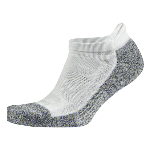 Blister Resist No Show Socks - White