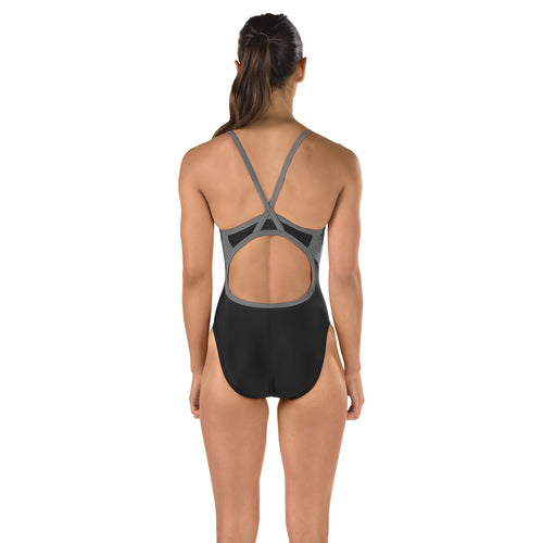 Women's Relaunch Flyback Swimsuit - Black