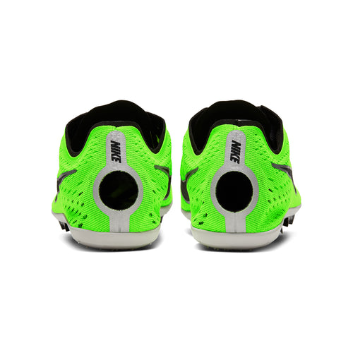 Unisex Zoom Victory 3 Track Spike - Electric Green/Black/Pure Platinum