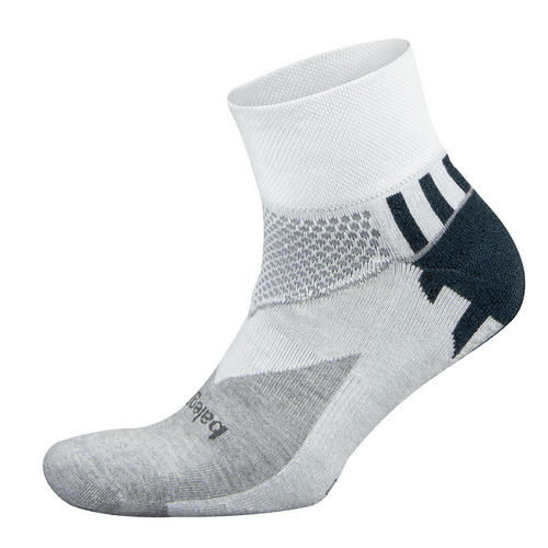 Enduro Quarter Sock - White