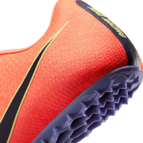 Unisex Zoom JA Fly 3 Track Spike - Bright Mango/Black/Purple Pulse