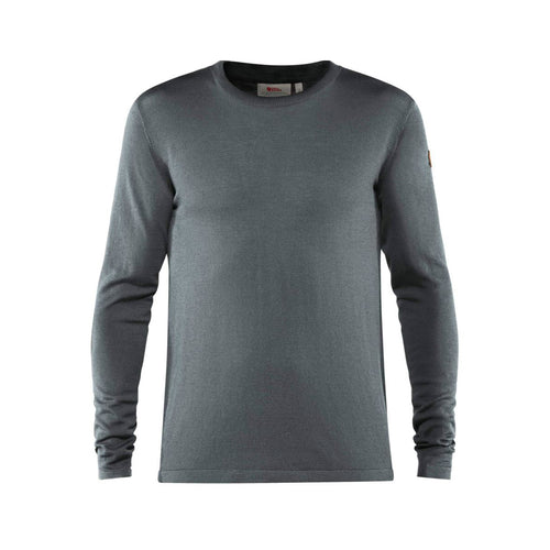 Men's High Coast Lite Merino Knit Long Sleeve Shirt - Thunder Grey