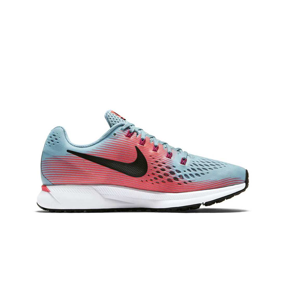 5c38ad237b1 Women s Air Pegasus 34 Running Shoe - Mica Blue White Racer Pink – Gazelle  Sports