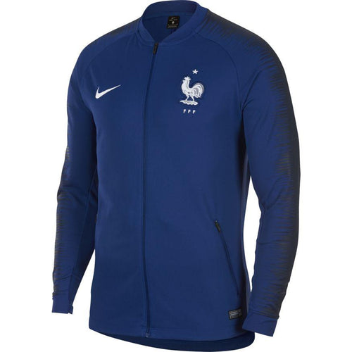 France World Cup 2018 Anthem Jacket - Deep Royal Blue