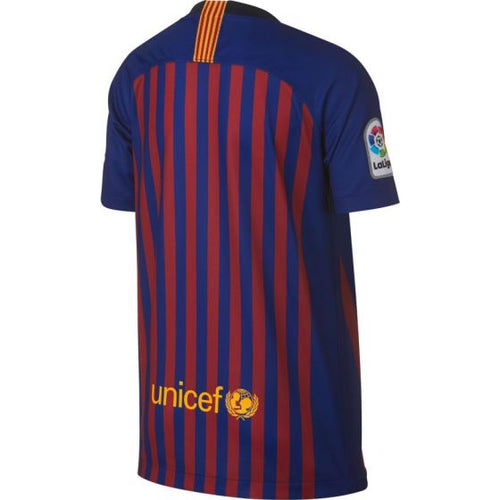 Youth FC Barcelona 2018/19 Home Stadium Jersey - Deep Royal Blue/University Gold