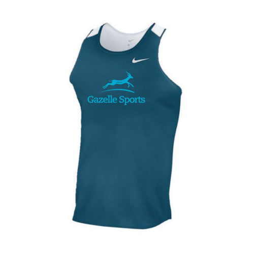 Men's Gazelle Sports Breathe Race Day Singlet - Team Navy