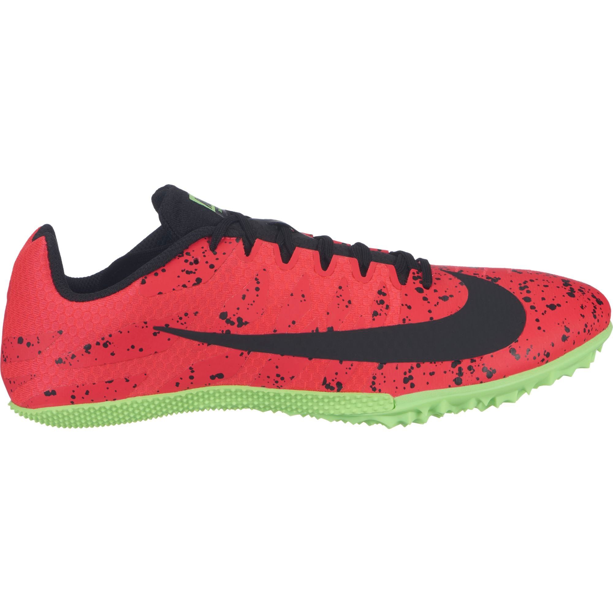 705ecceddf9f Unisex Zoom Rival S 9 Track Spike - Red Orbit Black Lime Blast – Gazelle  Sports
