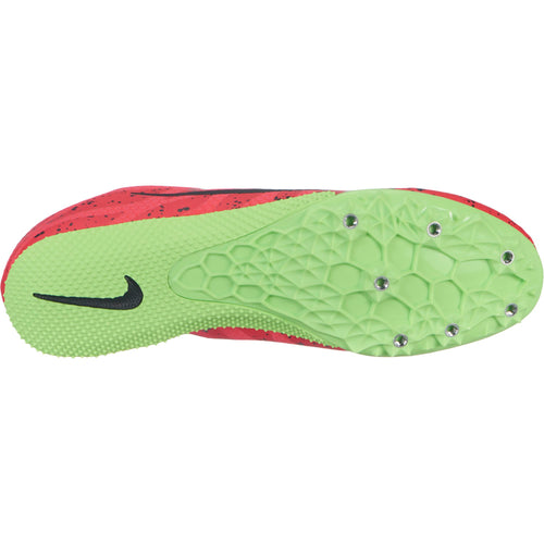 Unisex Zoom Rival S 9 Track Spike - Red Orbit/Black/Lime Blast