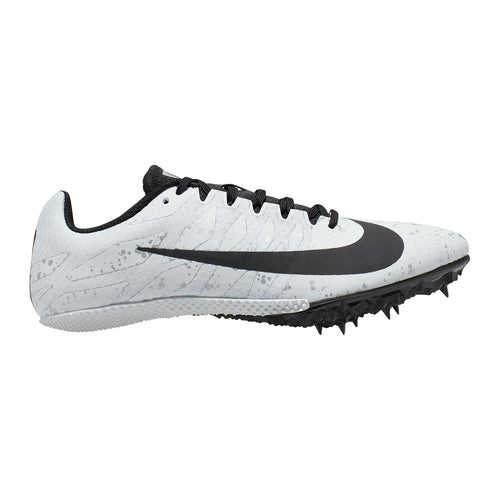 Women's Zoom Rival S 9 Track Spike - Pure Platinum / Black / Metallic Silver