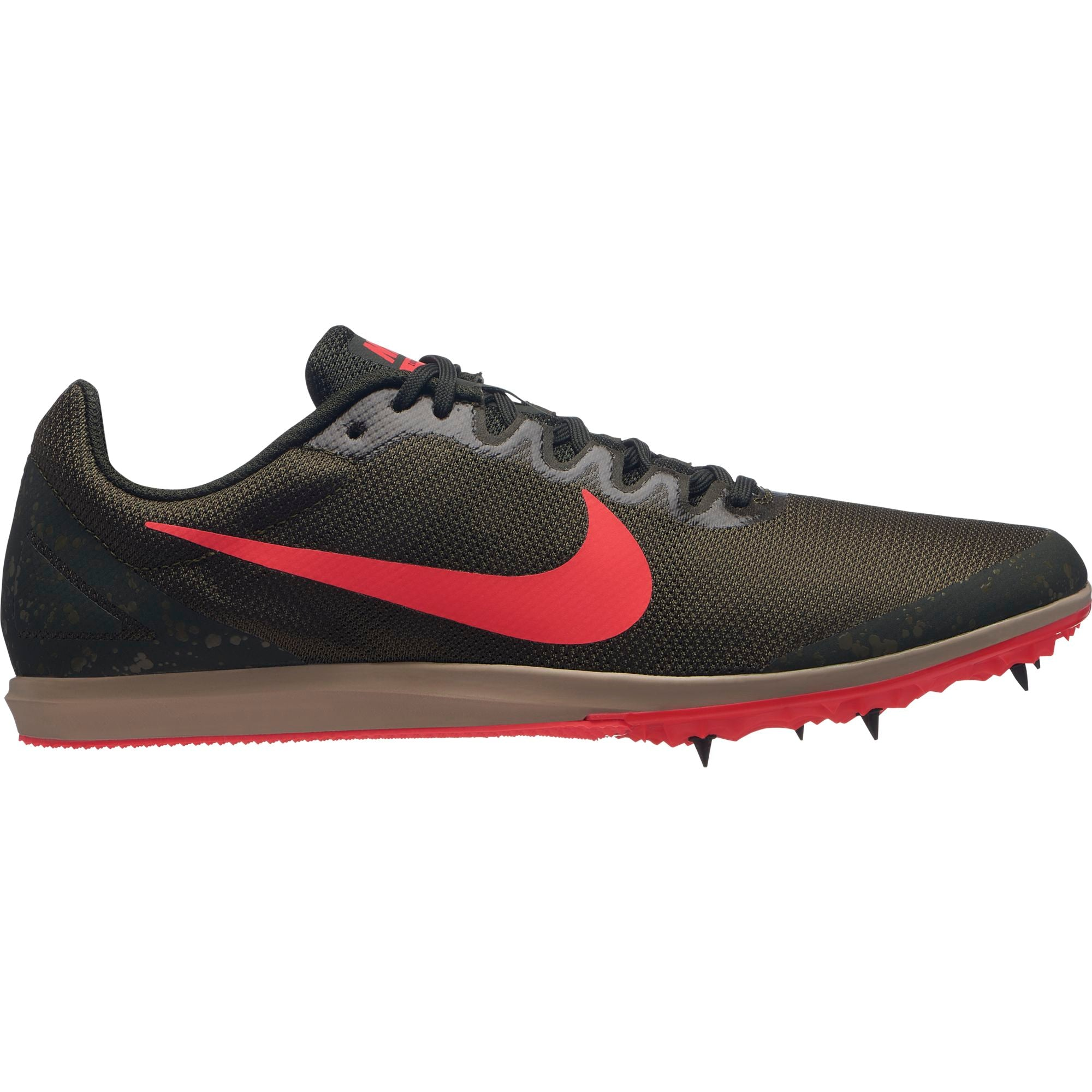 5821eef84d1 Unisex Zoom Rival D 10 Track Spike - Olive Canvas Flash Crimson Sequoi –  Gazelle Sports