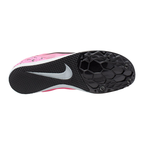 Women's Zoom Rival Distance 10 Track Spike - Pink Blast/Black/Pure Platinum