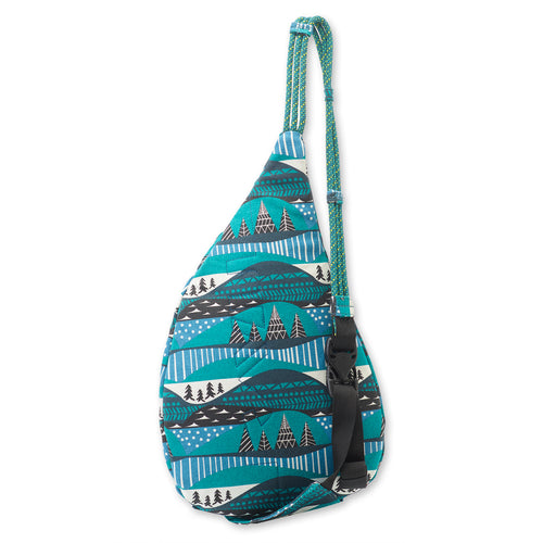 Mini Rope Bag - Winterscape