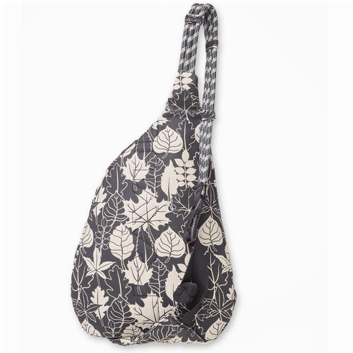 Mini Rope Bag - BW Leaf