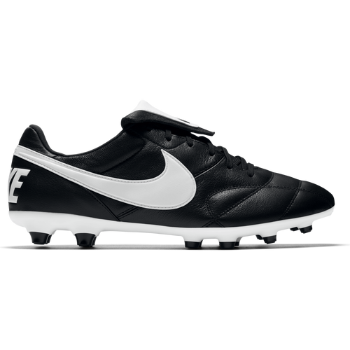 Men's Premier II FG Soccer Cleat - Black/White Kangaroo Leather