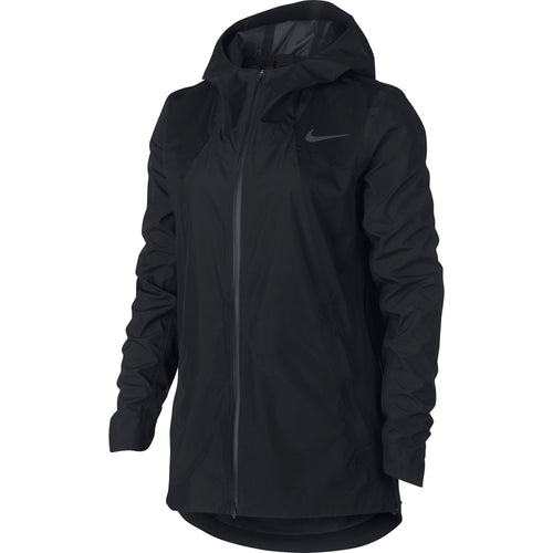 Women's Nike Aeroshield Running Jacket Black / Black