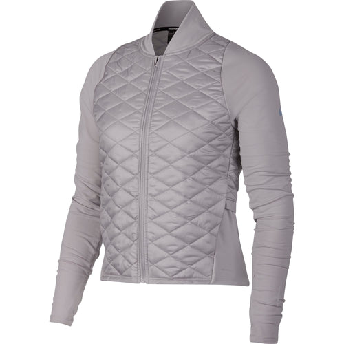 Women's Nike Aerolayer Running Jacket - Atmosphere Grey / Atmosphere Grey