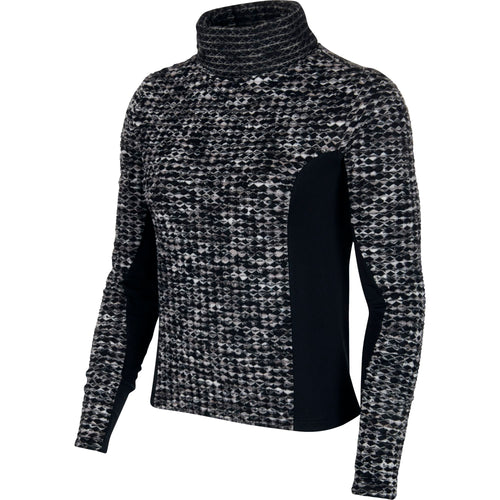 Women's Pro Hyperwarm Long Sleeve Top - Black / Black