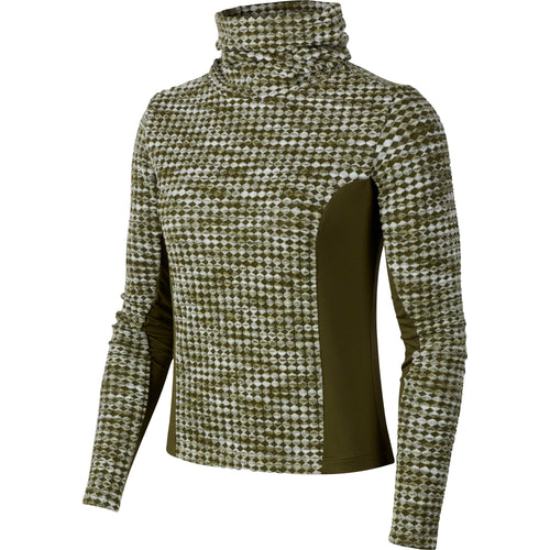 Women's Hyperwarm Long Sleeve Top - Olive Canvas / Black