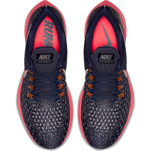 Women's Air Zoom Pegasus 35 Running Shoe - Blackened Blue/Moon Particle