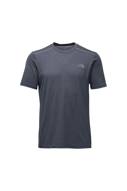 Men's Reactor Short Sleeved Crew - Urban Navy Heather