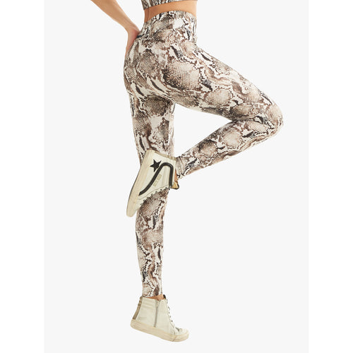 Women's Lustrous High Rise Legging - Diamond Back