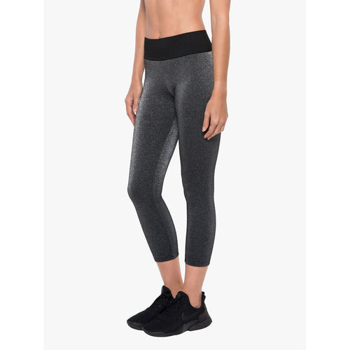 Women's Playoff Hi Rise Glow Legging -Silver Quartz