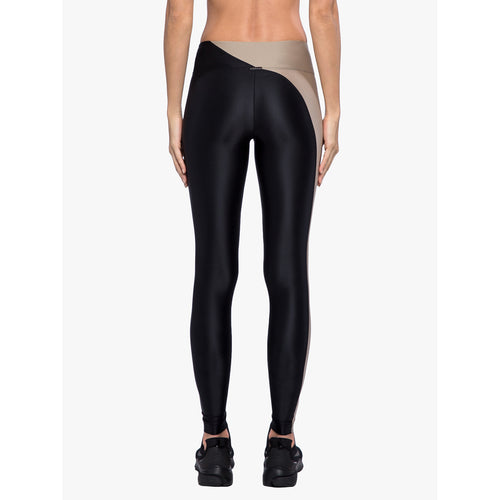 Women's Chase Mid-Rise Energy Legging - Hummus/Black