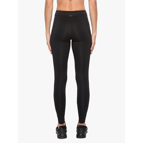 Women's Chameleon High Rise Scuba Legging - Black/Gold