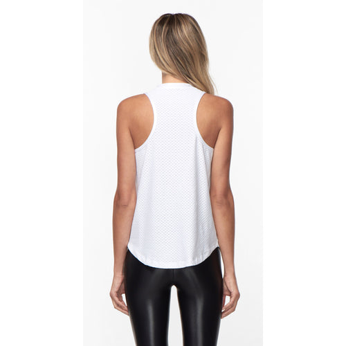 Women's Aerate Netz Tank - White