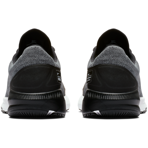 Men's Air Zoom Structure 22 Shield Running Shoe - Black/Cool Grey/Vast Grey/Metallic Silver