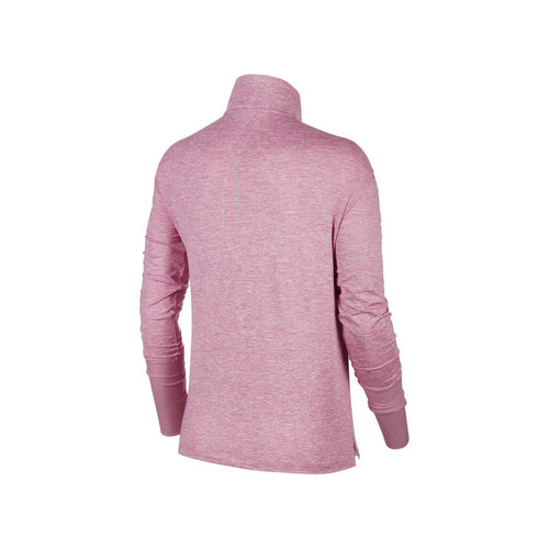 Women's Nike Element Half Zip Top - Magic Flamingo/HTR/Reflective Silver