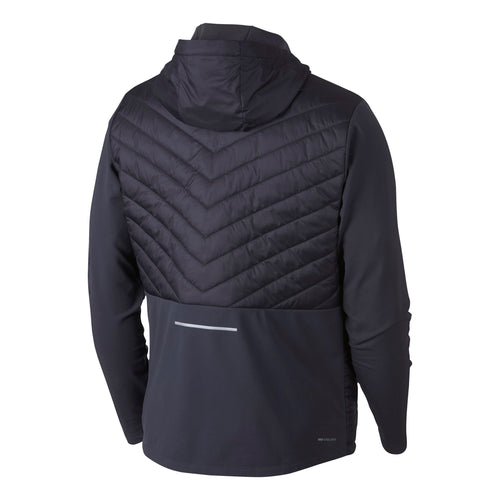 Men'a Nike Aerolayer Running Jacket - GRIDIRON-ASHEN SLATE