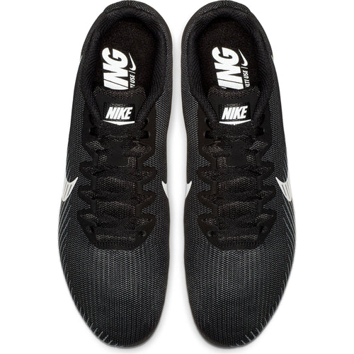 Men's Zoom Rival M 9 Track Spike - Black/White/Dark Grey