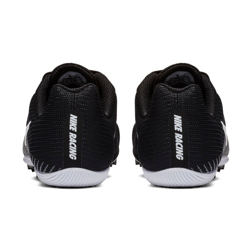 Women's Zoom Rival M 9 Track Spike - Black/White/Dark Grey