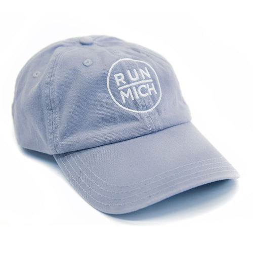 Run Mich Alternative Chino Twill Dad Cap - Cool Grey