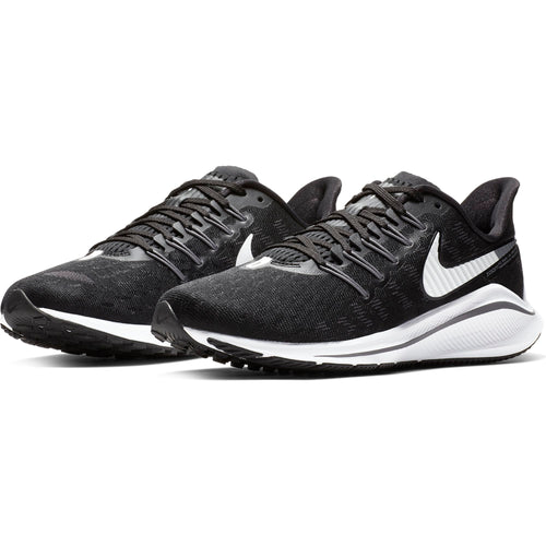 Women's Air Zoom Vomero 14 (D-Wide) Running Shoe - Black/White/Thunder Grey