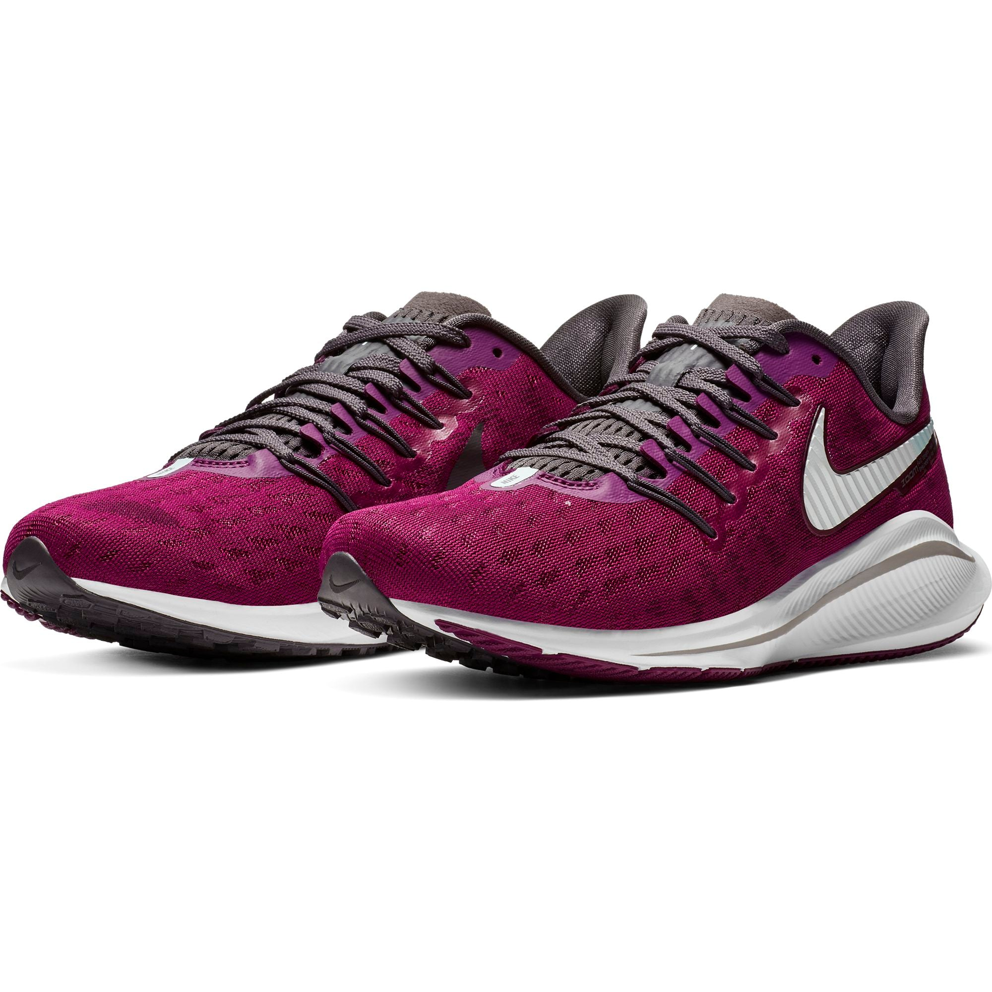 ... Women s Air Zoom Vomero 14 Running Shoe - True Berry White Thunder  Grey  ... eaf10aba1