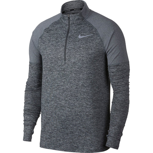 Men's NK Element Top Half-Zip 2.0 - Dark Grey / Heather / Heather