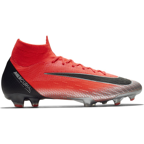Mercurial Superfly 360 Elite CR7 Firm Ground Soccer Cleat - Flash Crimson/Black