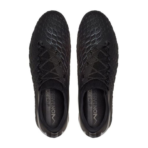 Hypervenom Phantom 3 Elite Firm Ground Soccer Cleat - Black/Black/Black