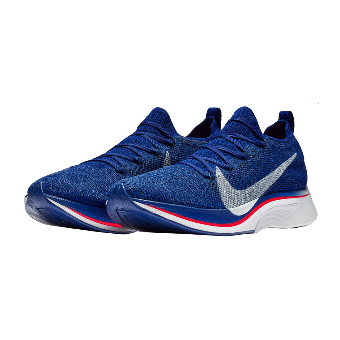 Nike VaporFly Flyknit 4% - Deep Royal Blue Red Orbit Black Ghost ... 7a22dd7df