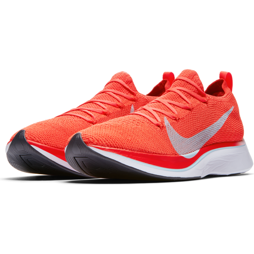 Unisex VaporFly 4% Flyknit Racing Flat - Bright Crimson/Ice Blue/Total Crimson