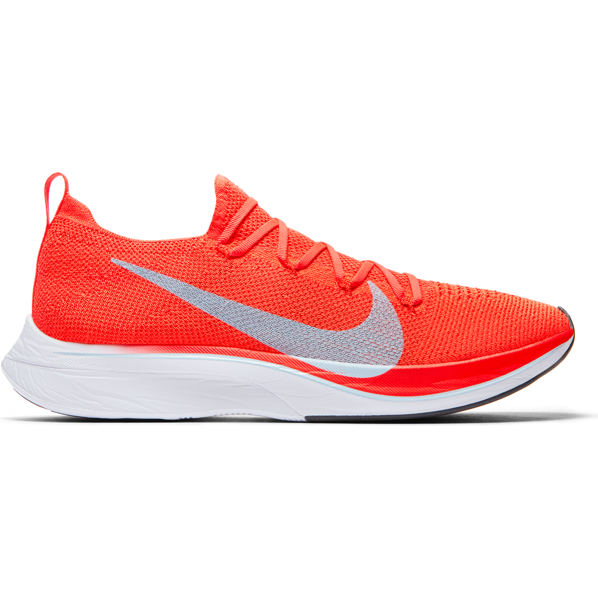 ca19a176df70 Unisex VaporFly 4% Flyknit Racing Flat - Bright Crimson Ice Blue Total –  Gazelle Sports