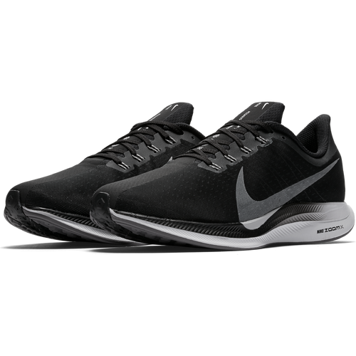 Men's Zoom Pegasus 35 Turbo Running Shoe - Black/Vast Grey/Oil Grey/Gunsmoke