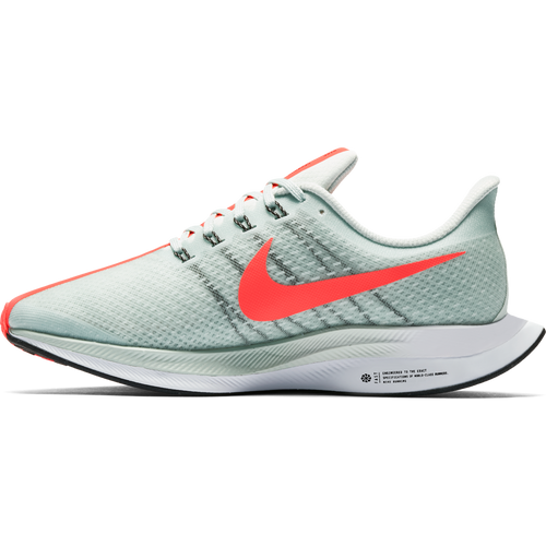 Men's Zoom Pegasus 35 Turbo Running Shoe - Barely Grey/Hot Punch/Black/White