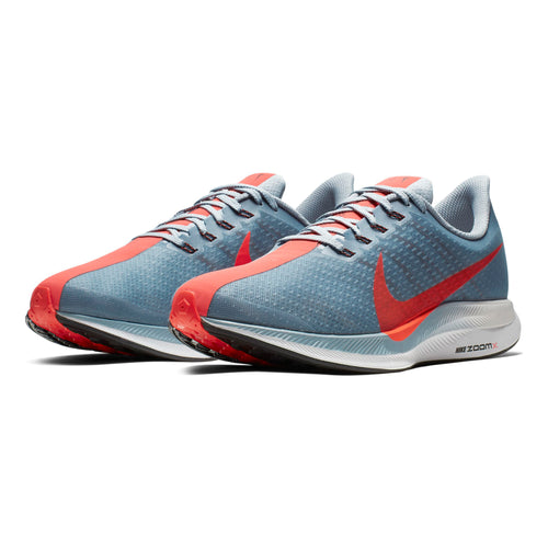 Men's Zoom Pegasus Turbo Running Shoe - Obsidian Mist/Bright Crimson-Vast Grey